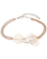 John Lewis   Metallic Leaf Layered Chain Bracelet   Lyst