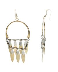 John Lewis | Metallic Fringe Drop Earrings | Lyst