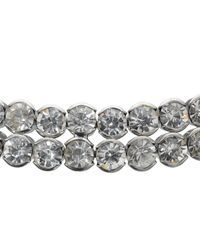 John Lewis - Metallic Diamanté Statement Collar Necklace - Lyst