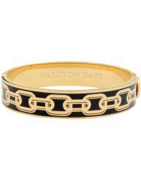 Halcyon Days - Metallic Chain Hinge Bangle - Lyst
