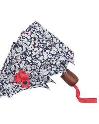 Joules Blue Ditsy Print Umbrella