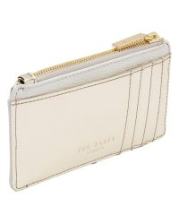 Ted Baker Metallic Sapphie Leather Coin Purse
