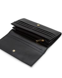Ted Baker Black Raelee Leather Matinee Purse