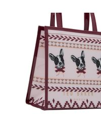 Ted Baker Multicolor Anscon Fair Isle Small Shopper Bag