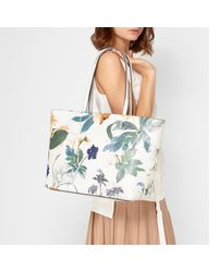 Fiorelli White Tate Large Tote Bag
