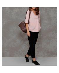 Modalu Multicolor Sienna Leather Casual Grab Bag