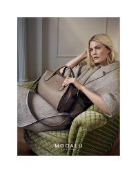 Modalu Multicolor Willow Leather Triple Grab Bag