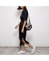 Nica Multicolor Mila Saddle Across Body Bag