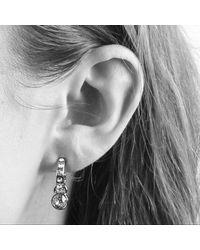 Dyrberg/Kern - Metallic Laurino Swarovski Crystal Earrings - Lyst