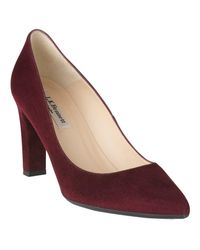 L.K.Bennett Multicolor L.k. Bennett Tess Block Heeled Court Shoes