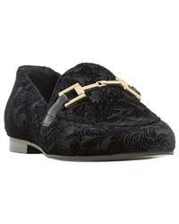 Dune Black Guru Buckle Loafers