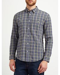 John Lewis Pink Arkansas Check Shirt for men