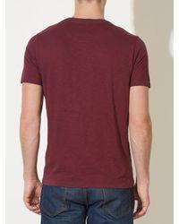 John Lewis Multicolor Vintage Slub Crew Neck T-shirt for men