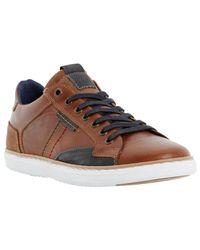 Dune | Multicolor Tailored1 Side Stitch Leather Trainers for Men | Lyst