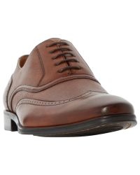 Dune | Brown Park Lane Oxford Leather Shoes for Men | Lyst