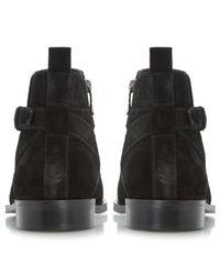 Dune Black Colorado Suede Boots for men
