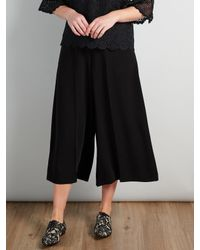 Somerset by Alice Temperley Black Culottes
