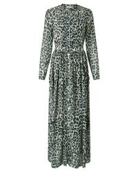Somerset by Alice Temperley | Green Animal Print Maxi Dress | Lyst