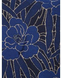 White Stuff Blue Iris Jacquard Tunic