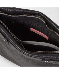 White Stuff Black Petunia Across Body Handbag