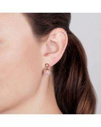 Dyrberg/Kern - Multicolor Bess Small Semi-precious Stone And Swarovski Crystal Round Drop Earrings - Lyst