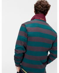 Joules Multicolor Onside Stripe Rugby Shirt for men