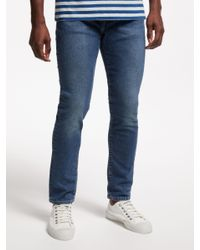 Levi's Blue 510 Skinny Jeans for men