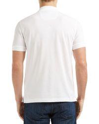John Lewis - White Boss Green Firenze Logo Polo Shirt for Men - Lyst