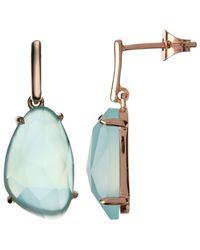 John Lewis - Multicolor Semi-precious Stone Large Drop Earrings - Lyst