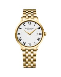 Raymond Weil Metallic 5488-p-00300 Men's Toccata Bracelet Strap Watch for men
