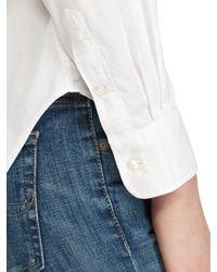 Ralph Lauren White Polo Estate Cotton Shirt