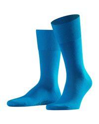 Falke Blue Airport Short Socks for men