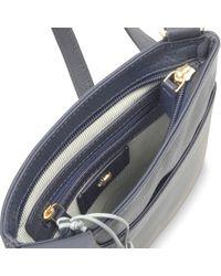 Radley Blue Pocket Bag Leather Small Across Body Bag