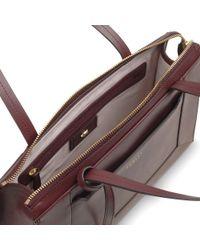 Radley Blue Hardwick Leather Medium Tote Bag