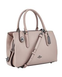 COACH Multicolor Brooklyn 28 Leather Carryall Tote Bag