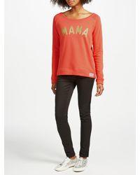Selfish Mother Multicolor Mama Crew Neck Sweatshirt