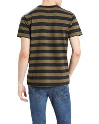 Levi's Green Short Sleeve Mighty T-shirt for men