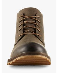 Sorel Brown Madson Chukka Waterproof Boot for men