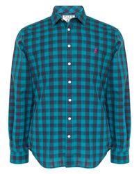 Thomas Pink Green Waterhouse Check Slim Fit Shirt for men