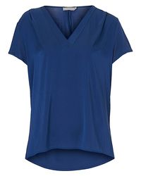 Betty & Co. Blue Oversized Top