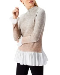 Coast Multicolor Riley Ombre Knit Top
