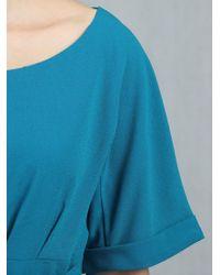 Jolie Moi - Blue Short Sleeve Kimono Dress - Lyst