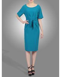 Jolie Moi | Blue Short Sleeve Kimono Dress | Lyst