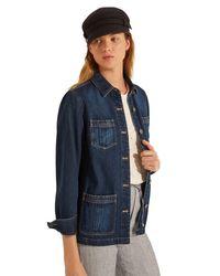 Gerard Darel Blue Robin Jacket