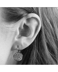 Dyrberg/Kern - Metallic Dyrberg/kern Desira Crystal Disc Earrings - Lyst