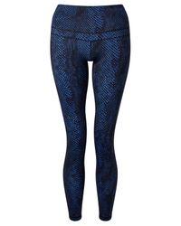 Varley | Blue Biona Tights | Lyst