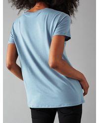 Minimum Blue Rynah T-shirt for men