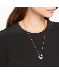 Pieces - Metallic Nevada Necklace - Lyst