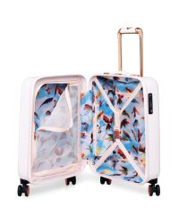 Ted Baker Pink Oriental Blossom 54cm 4-wheel Cabin Case