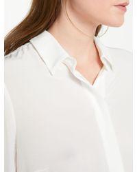 John Lewis White Oui Long Sleeve Shirt